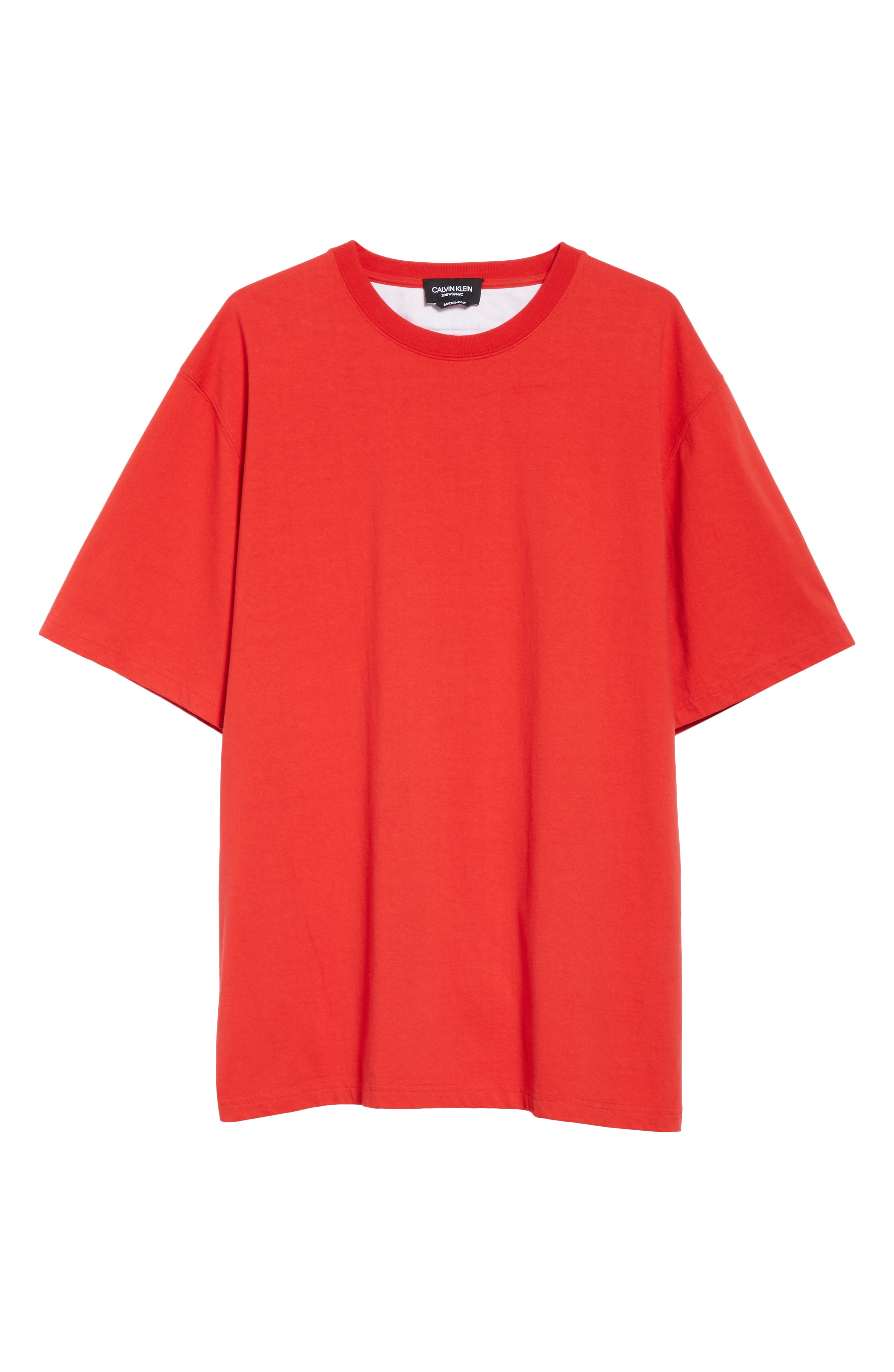 ,                             Oversize T-Shirt,                             Alternate thumbnail 6, color,                             RED