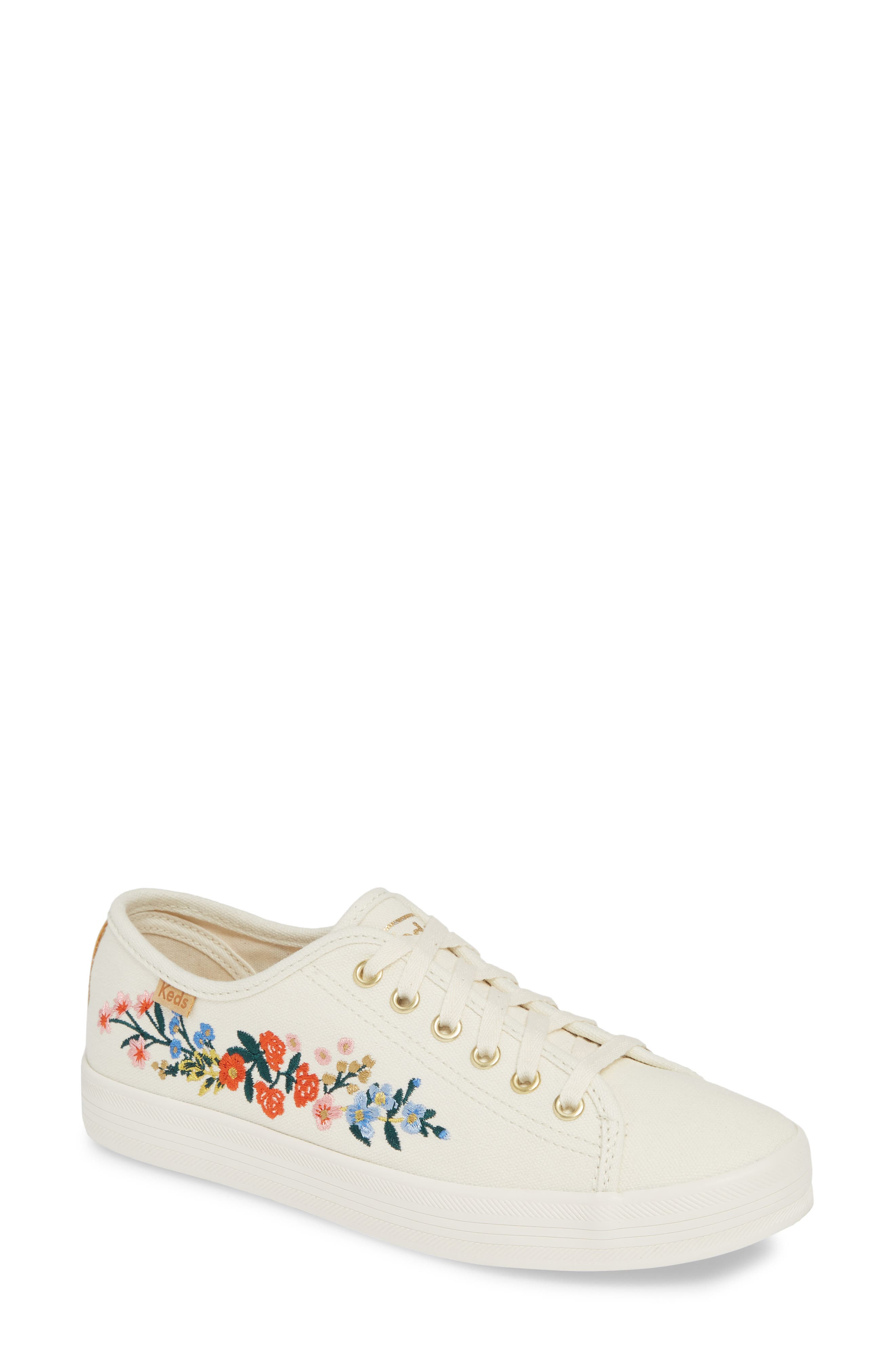 Keds X Rifle Paper Co. Vine Sneaker, Ivory