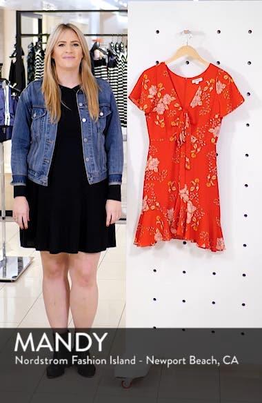 Hyper Bloom Printed Minidress, sales video thumbnail