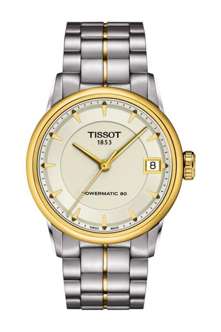 Image of Tissot Women's Luxury Powermatic 80 Bracelet Watch, 33mm