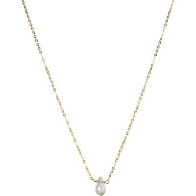 Nashelle December Synthetic Birthstone Choker Necklace