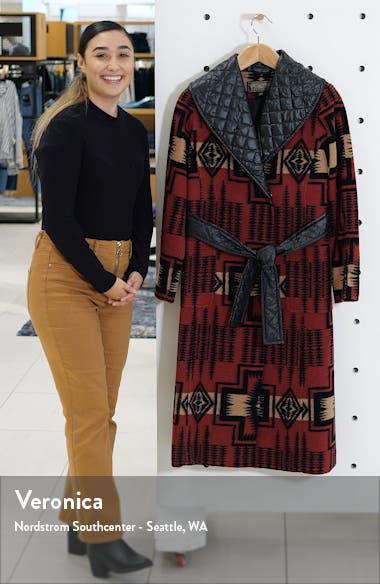 Merrill Wool Blend Long Coat, sales video thumbnail