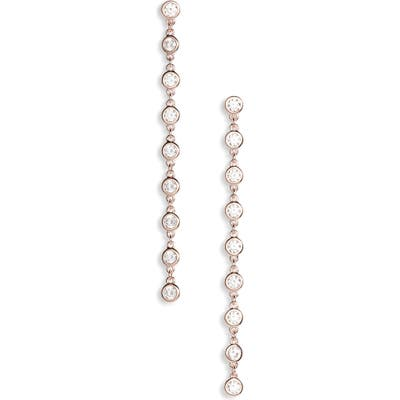 Nadri Halo Drop Earrings