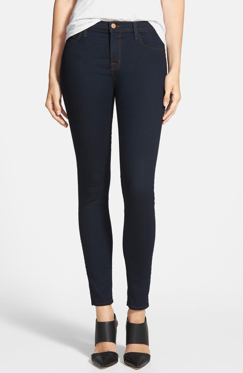 J BRAND '811' Ankle Skinny Jeans, Main, color, 460