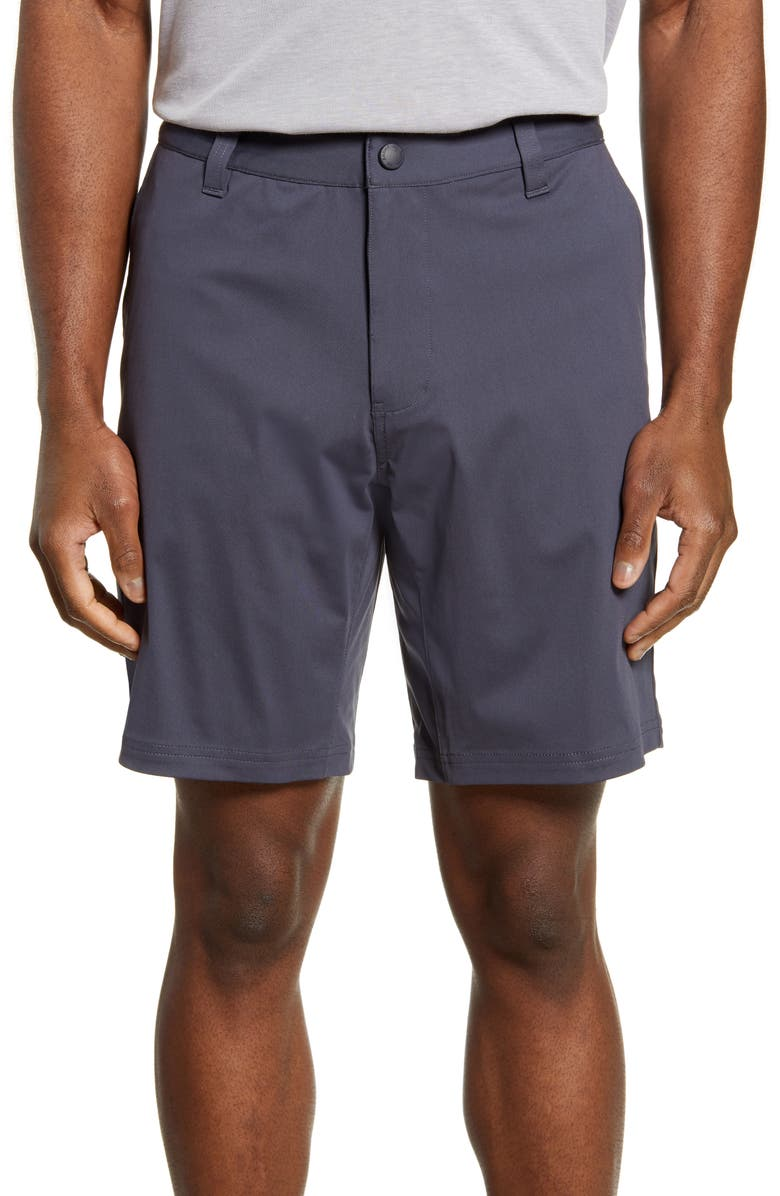 "RHONE 9"" Commuter Shorts, Main, color, IRON"