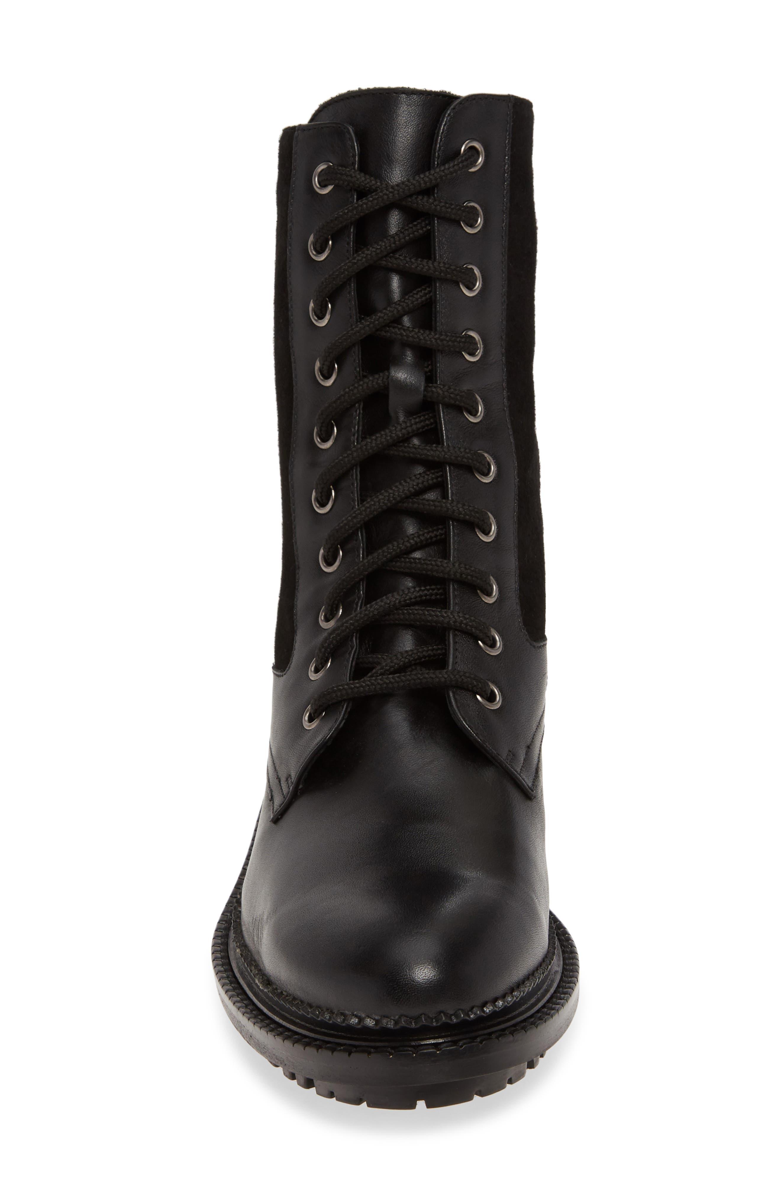 Aquatalia Boots Orianna Combat Boot