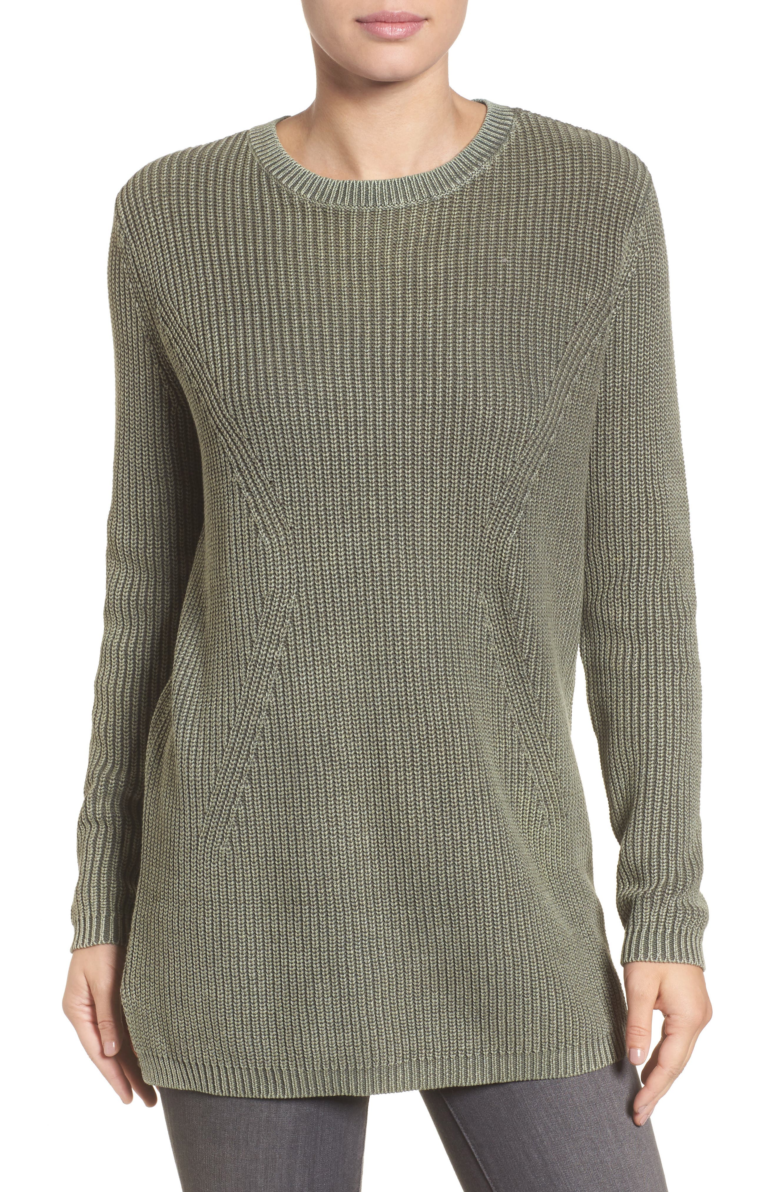 ,                             Tie Back Tunic Sweater,                             Main thumbnail 7, color,                             311