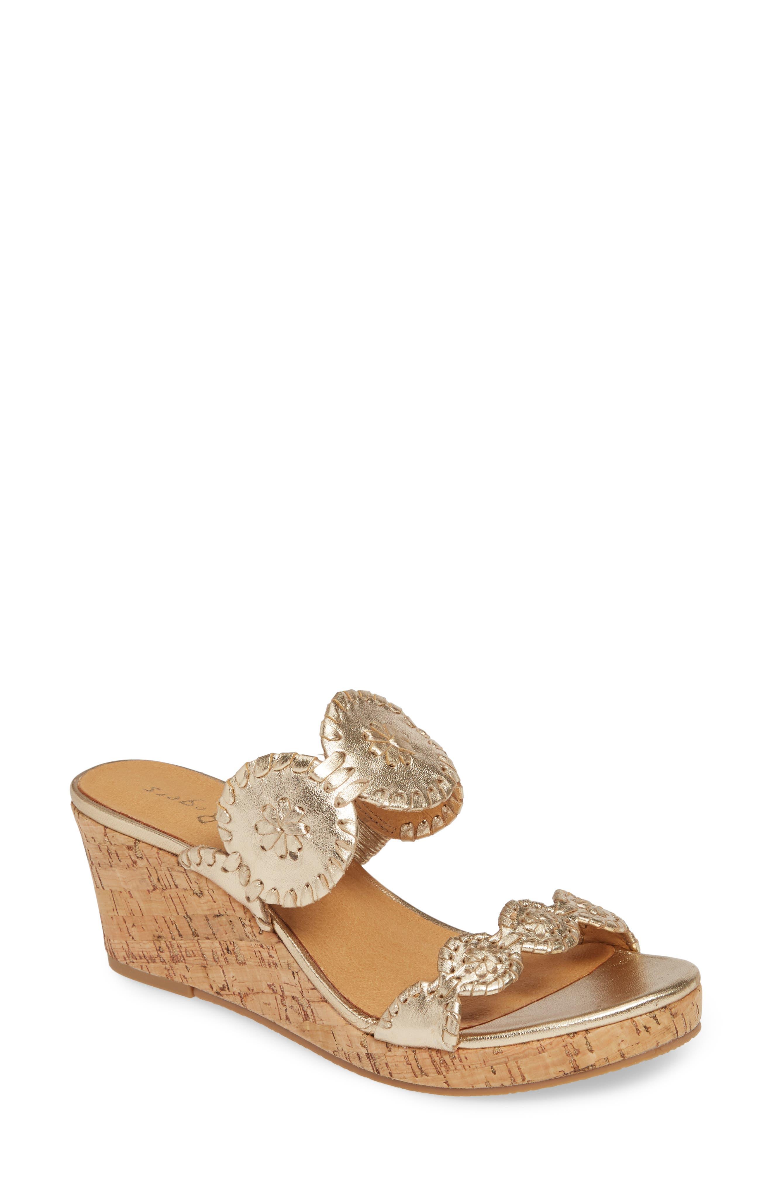 Lauren Wedge Slide Sandal