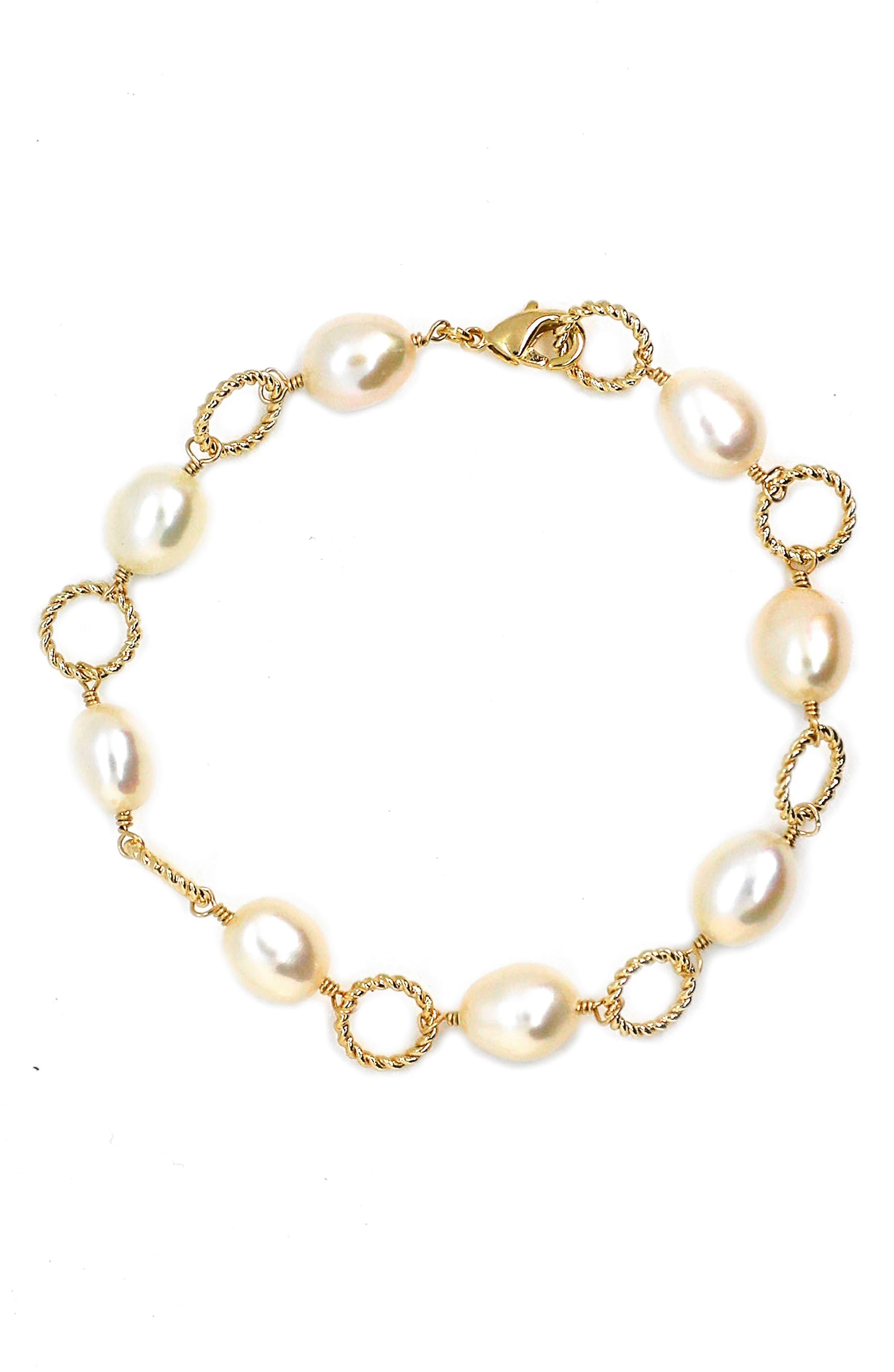 Friendliness Baroque Pearl Bracelet