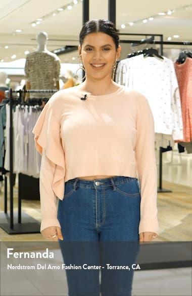 Raquel Floral Long Sleeve Faux Wrap Dress, sales video thumbnail
