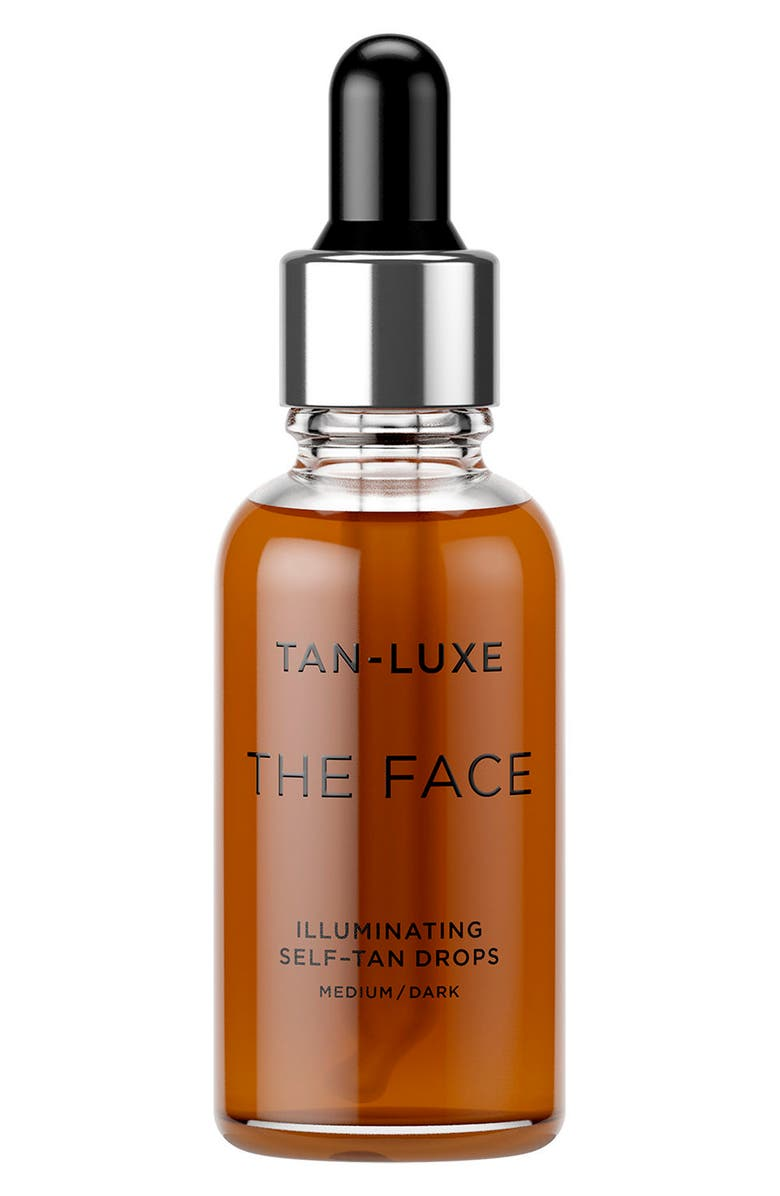 TAN-LUXE The Face Illuminating Self-Tan Drops, Main, color, MEDIUM/DARK