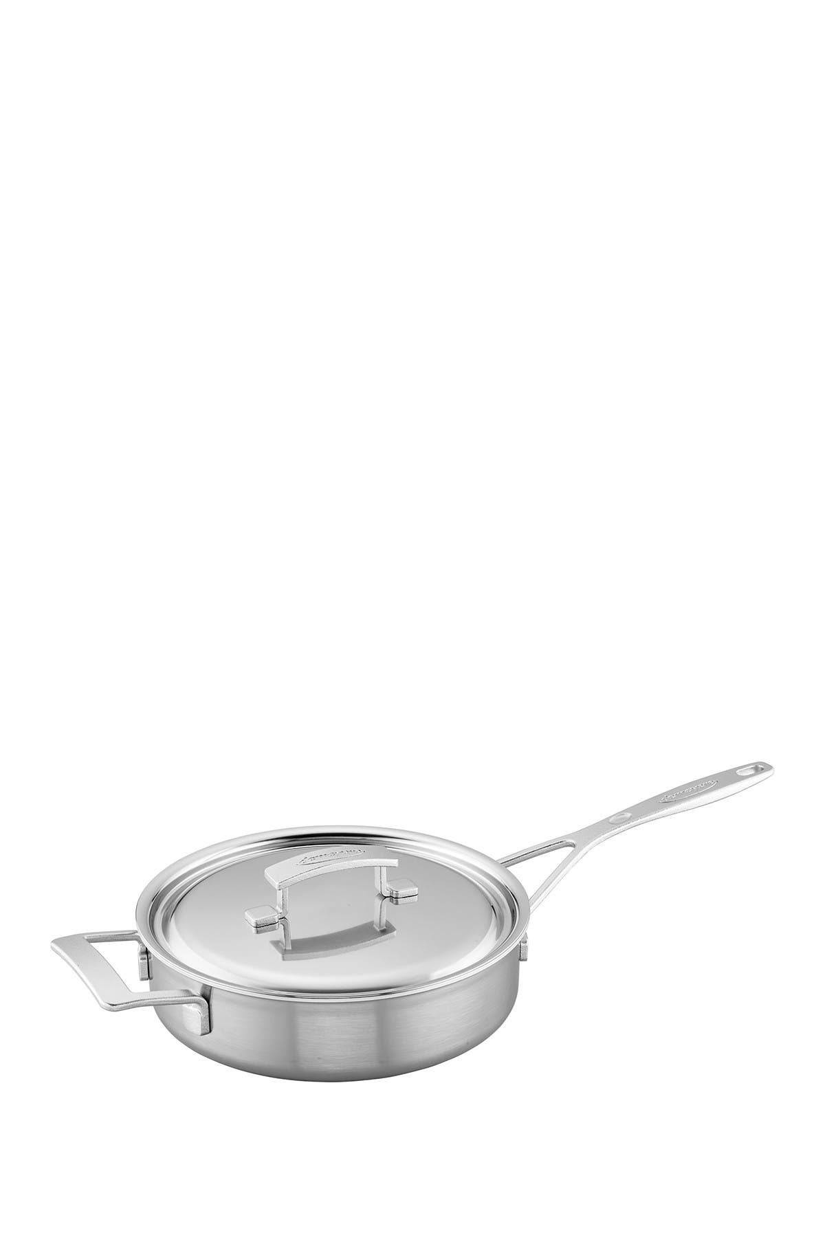 Image of Demeyere Industry 5-Ply 3-Qt. Stainless Steel Saute Pan