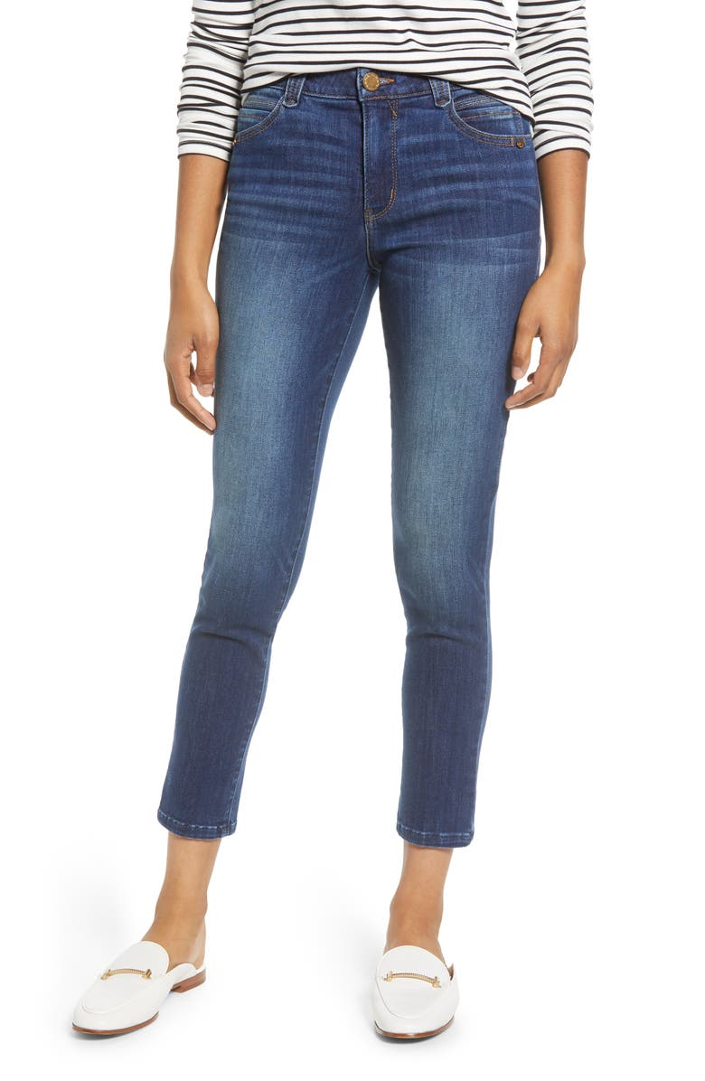 Wit Wisdom Ab Solution High Waist Ankle Skinny Jeans Exclusive