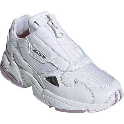 Adidas Falcon Zip Sneaker, White