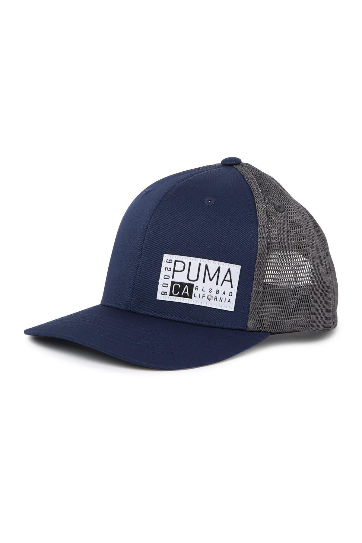 Image of PUMA GOLF Utility Patch Trucker Snapback Cap