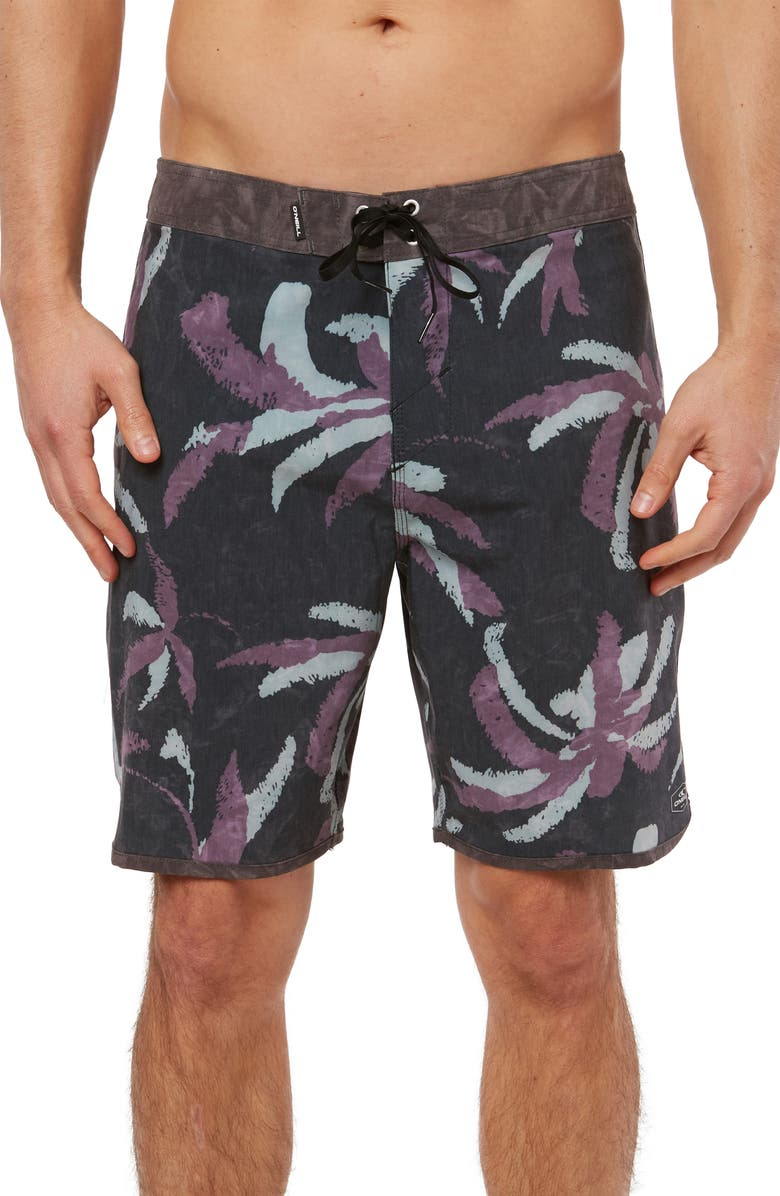 O'NEILL Hyperfreak Split Board Shorts, Main, color, BLACK