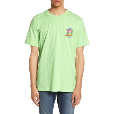 Adidas Originals Bodega Ice Cream Graphic T-Shirt, Green