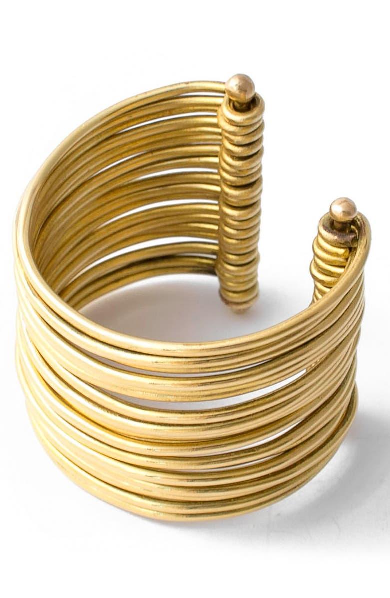 f4282429af7 Wide Stacked Cuff Bracelet, Main, color, 220