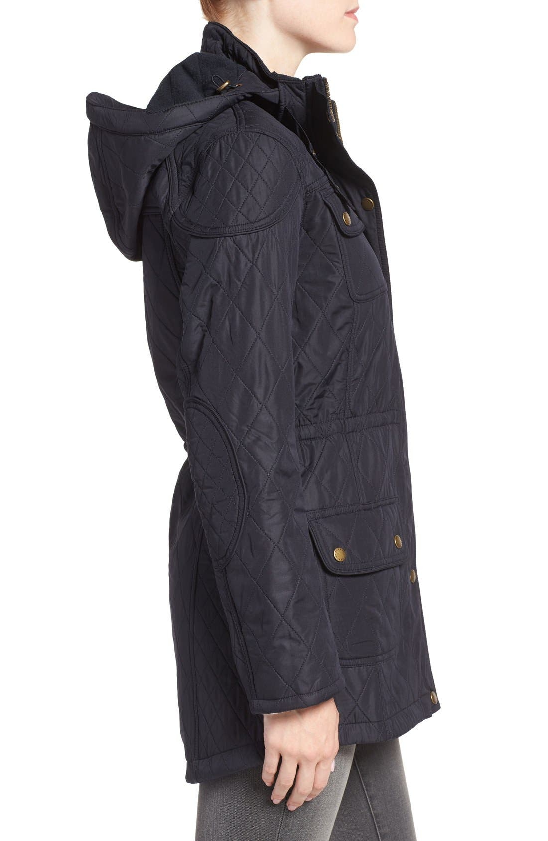 ,                             'Arrow' Quilted Anorak,                             Alternate thumbnail 17, color,                             410