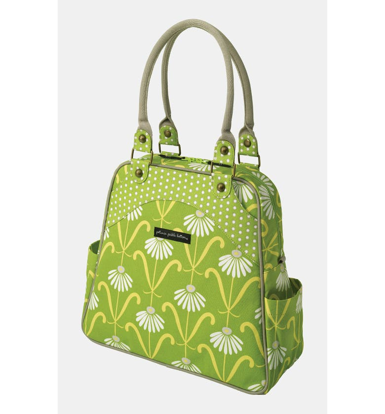 PETUNIA PICKLE BOTTOM SASHAY SATCHEL, Main, color, 340