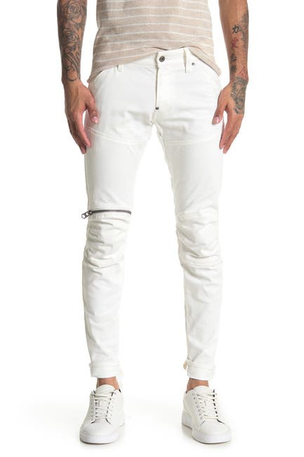 "Image of G-STAR RAW 5620 3D Zip Knee Skinny Jeans - 32"" Inseam"