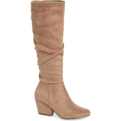 Bella Vita Karen Ii Knee High Slouch Boot, Beige