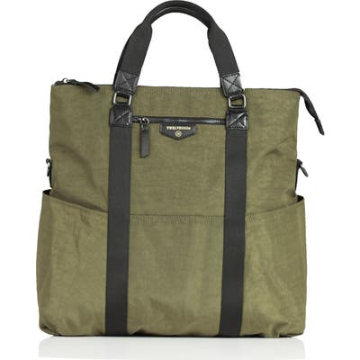 Twelvelittle 3-In-1 Foldover Diaper Tote -
