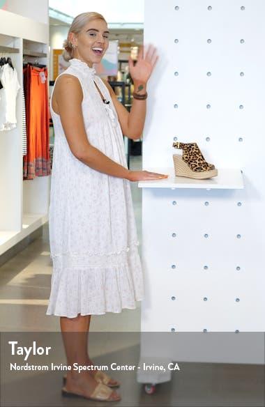 'Olivia' Espadrille Wedge Sandal, sales video thumbnail