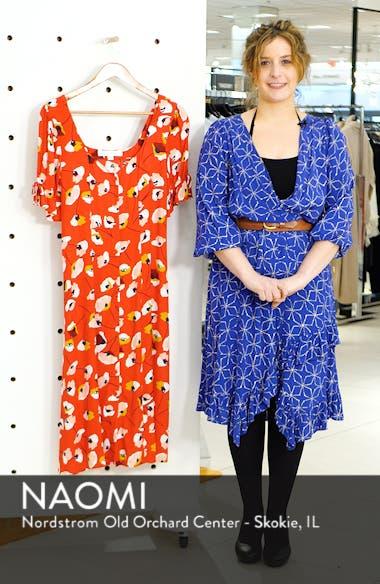 Floral Print Midi Dress, sales video thumbnail