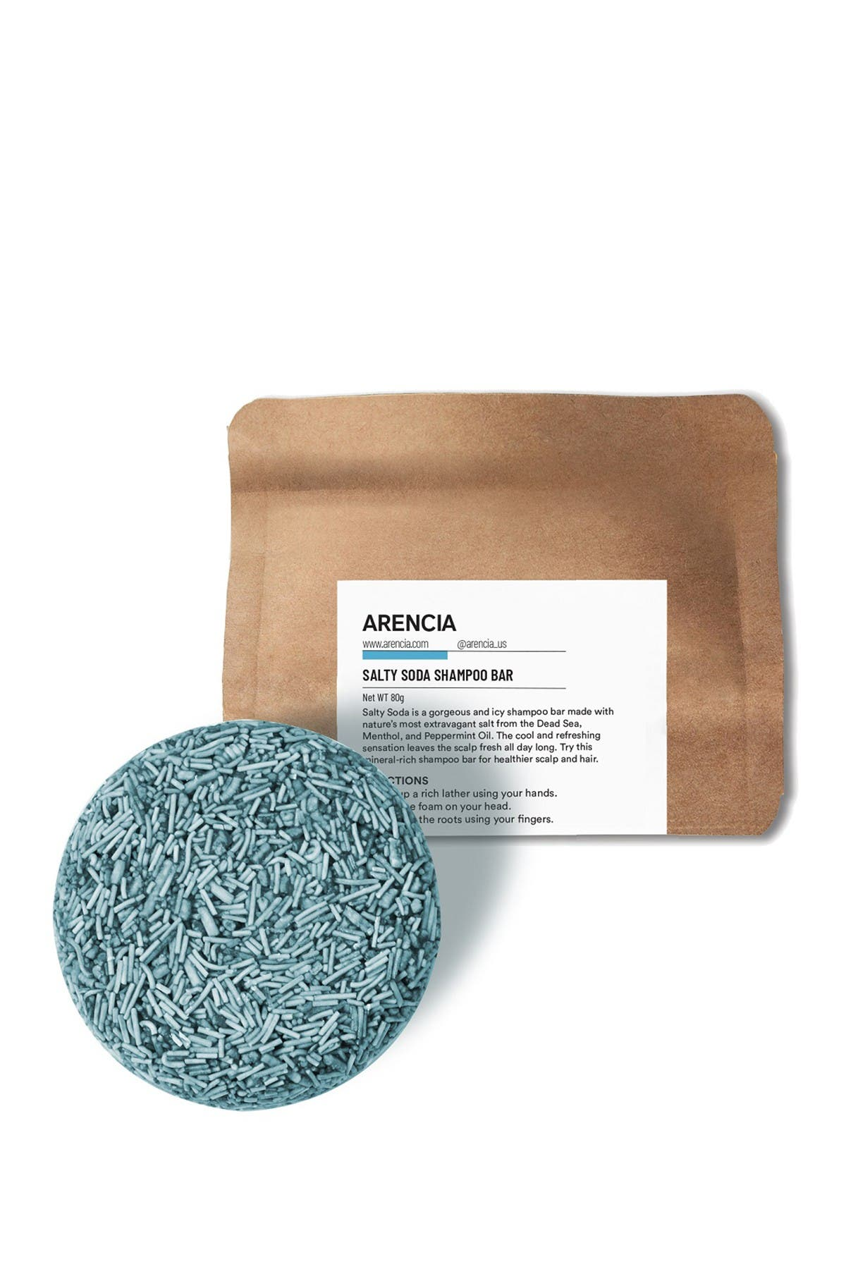 Image of Arencia Salty Soda Shampoo Bar