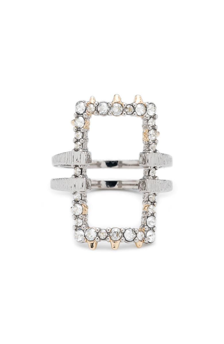 ALEXIS BITTAR Elements Crystal Encrusted Ring, Main, color, GOLD