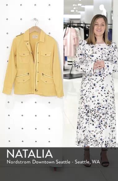 Lily Aldridge for Velvet by Graham & Spencer Army Jacket, sales video thumbnail
