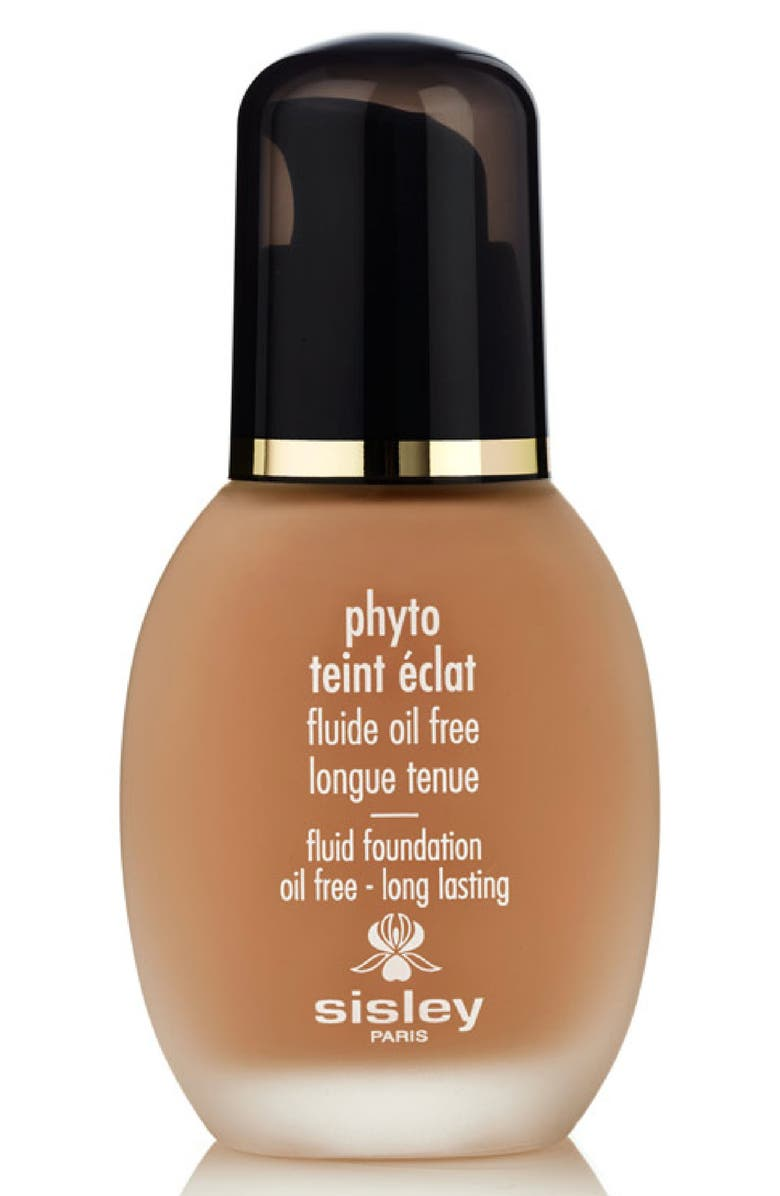 SISLEY PARIS Phyto-Teint Éclat Fluid Foundation, Main, color, AMBER
