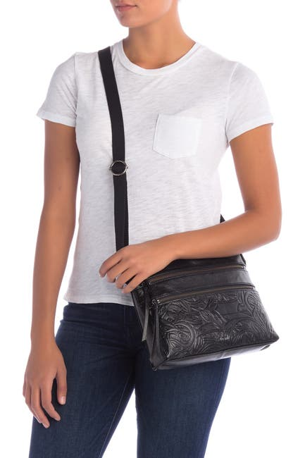 Image of THE SAK COLLECTIVE Reseda Leather Crossbody