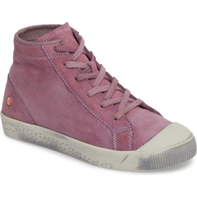 Softinos By Fly London Kip High Top Sneaker - Purple