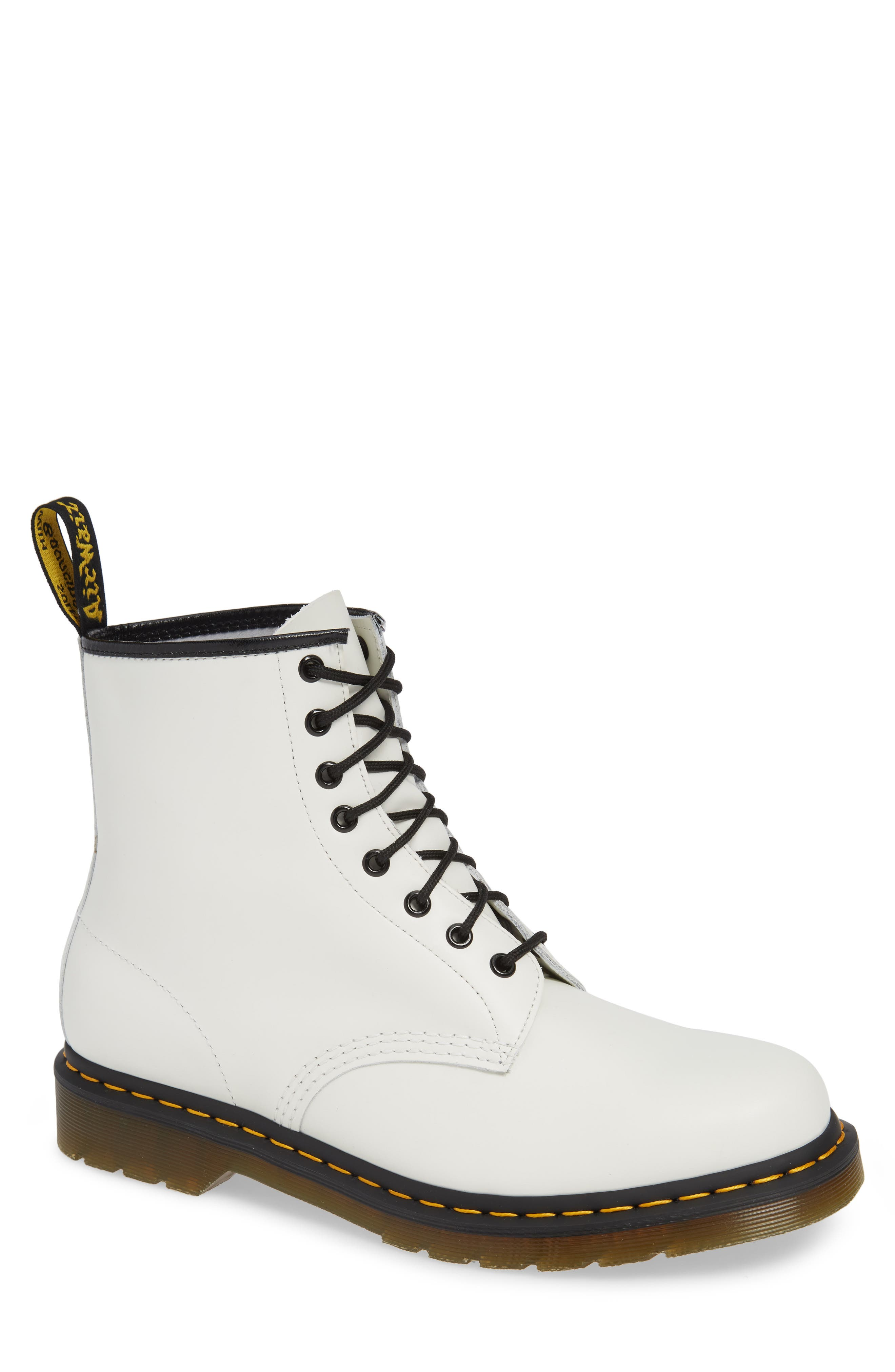 321fe0a4daf3 Dr. Martens '1460' Boot, White