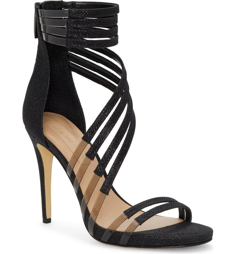 IMAGINE BY VINCE CAMUTO Imagine Vince Camuto Daine Clear Strappy Sandal, Main, color, 002