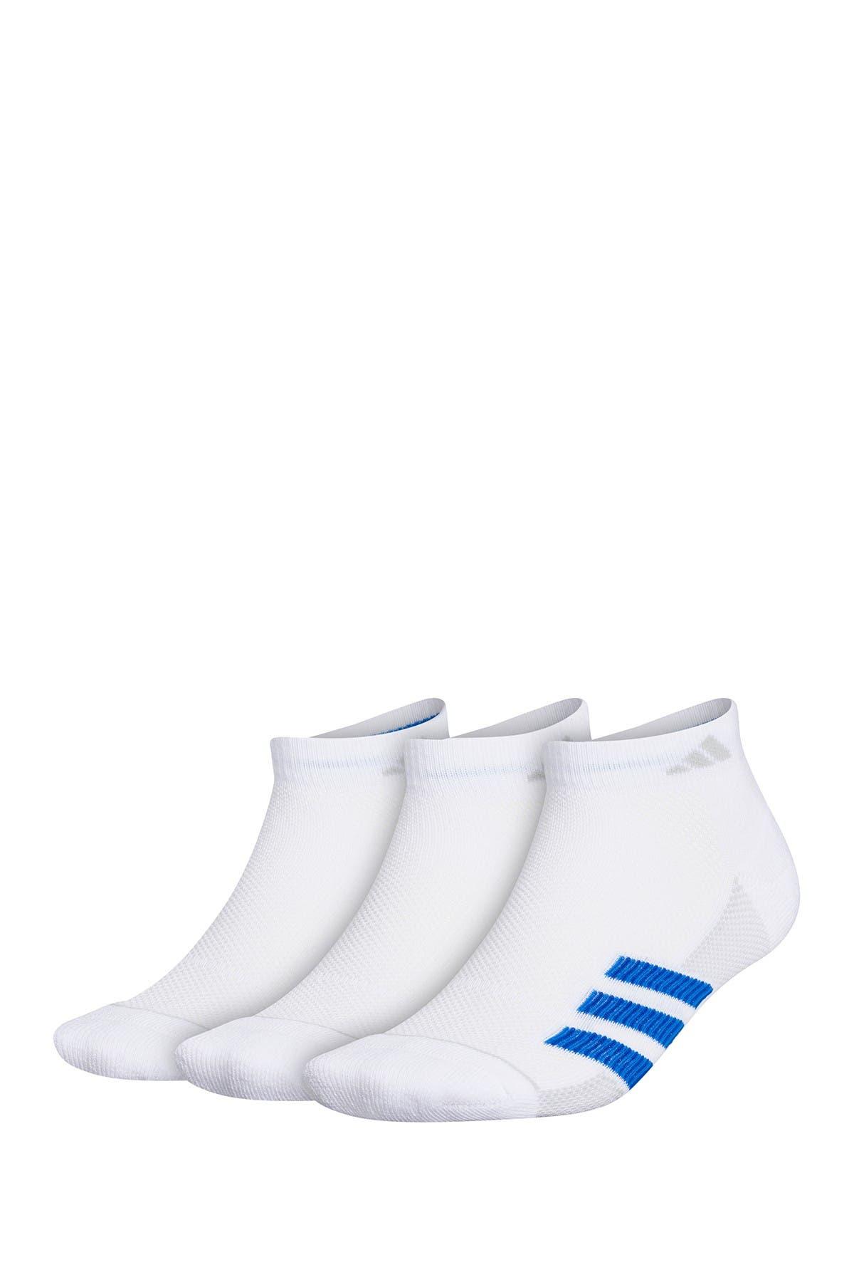 Image of adidas Superlite Low Cut Stripe Socks - Pack of 3