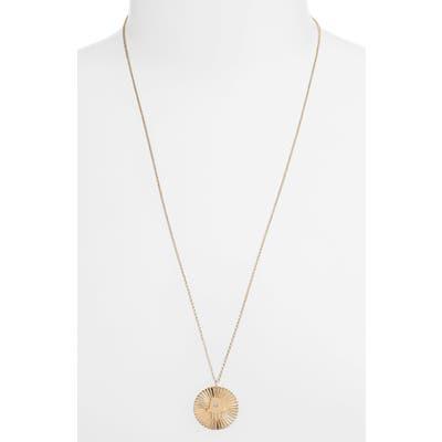 Jennifer Zeuner Iris Faith Diamond Pendant Necklace