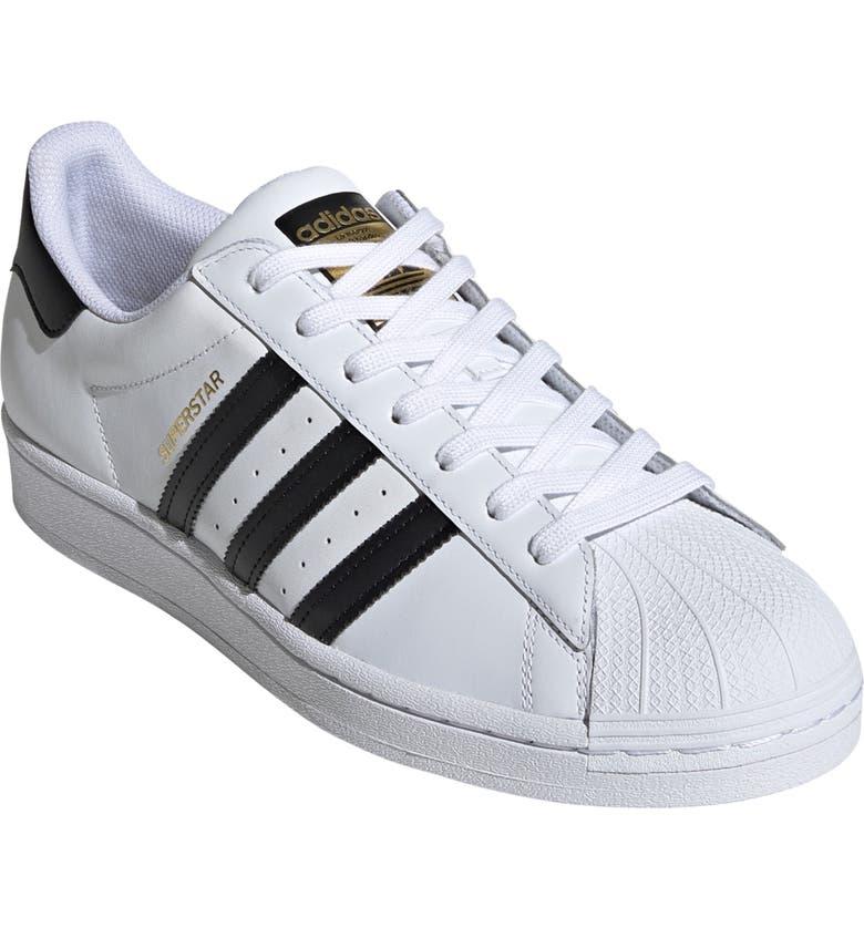 ADIDAS Superstar Sneaker, Main, color, FTWR WHITE/ CORE BLACK