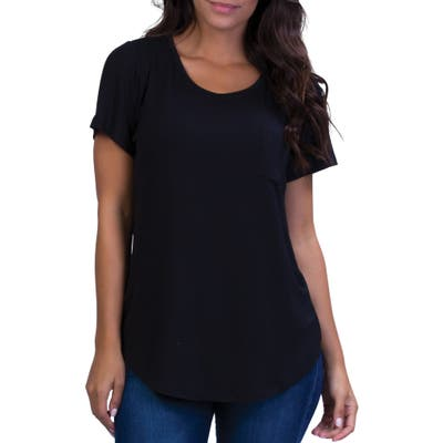 Belly Bandit Perfect Maternity/nursing Tee, Black