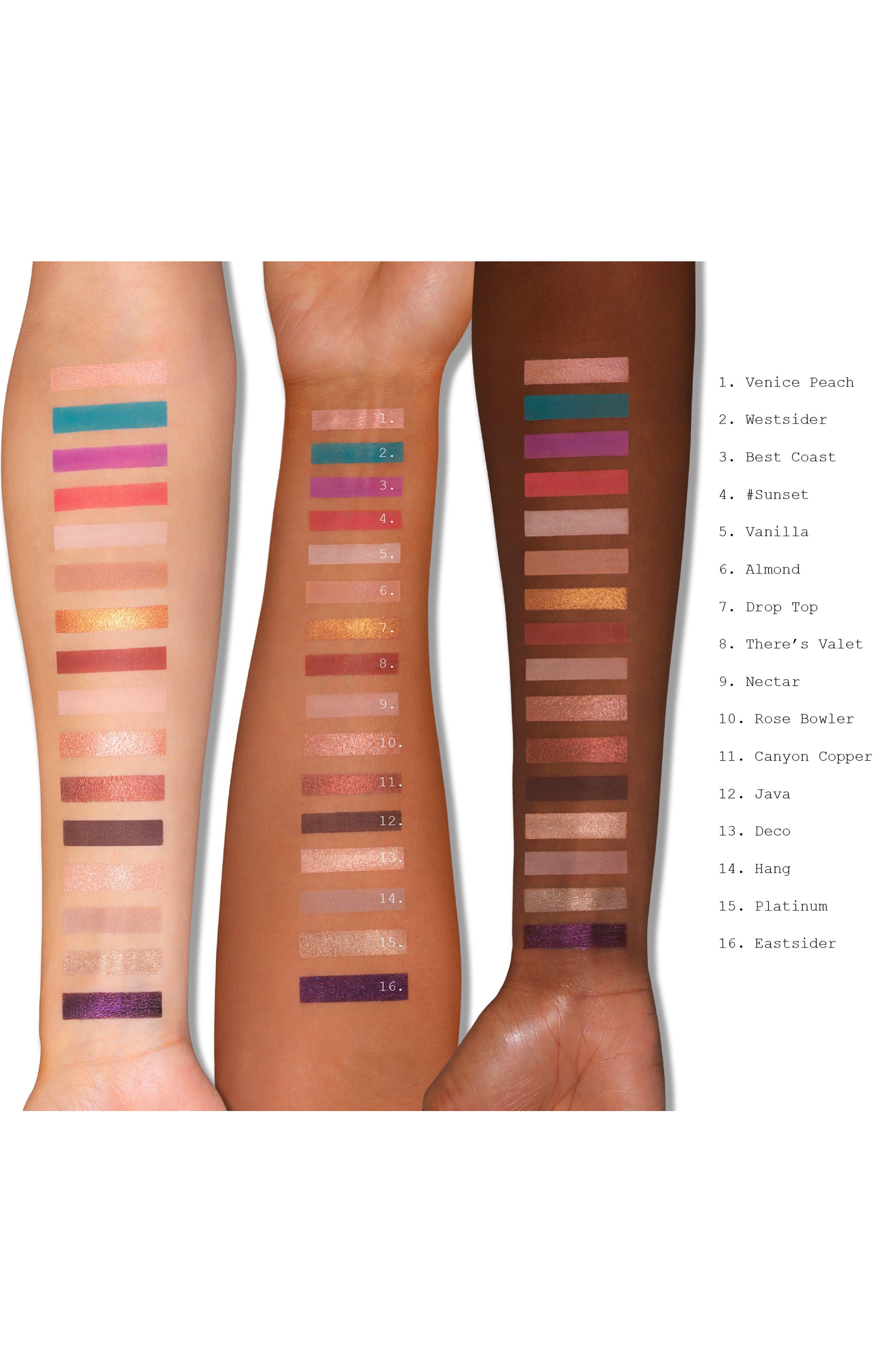 ,                             L.A. Cover Shot Eyeshadow Palette,                             Alternate thumbnail 4, color,                             NO COLOR