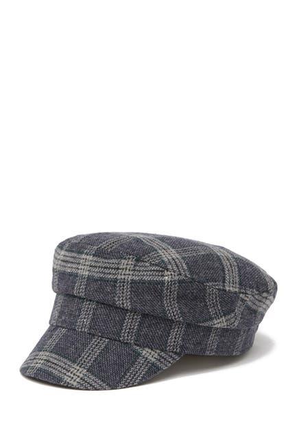 Image of August Hat Plaid Flat Cap