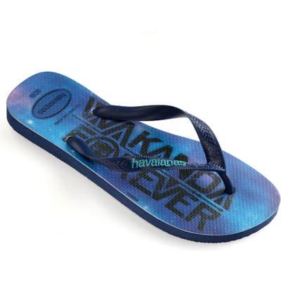 Havaianas Top Marvel Flip Flop, /8- Blue