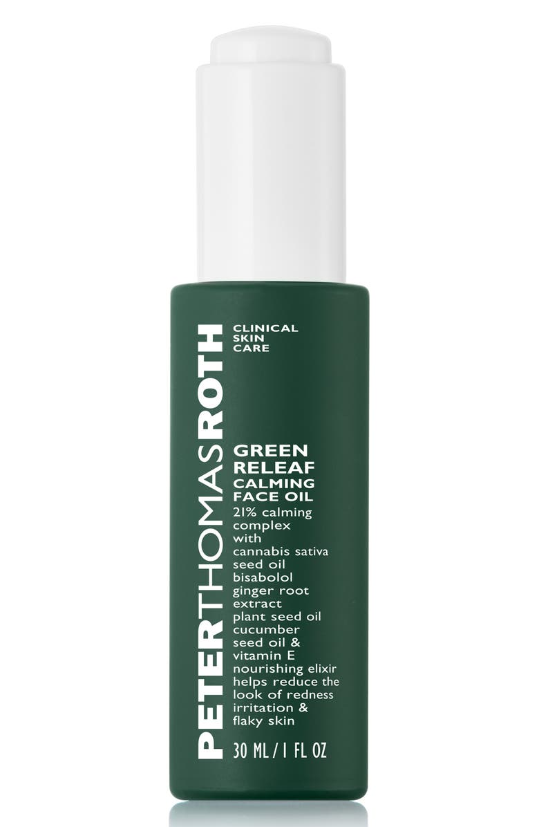 PETER THOMAS ROTH Green Releaf Calming Face Oil, Main, color, NO COLOR