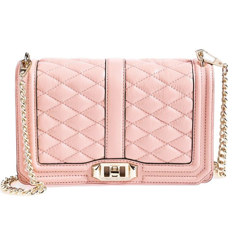 REBECCA MINKOFF 'Love' Crossbody Bag, Main, color, 650