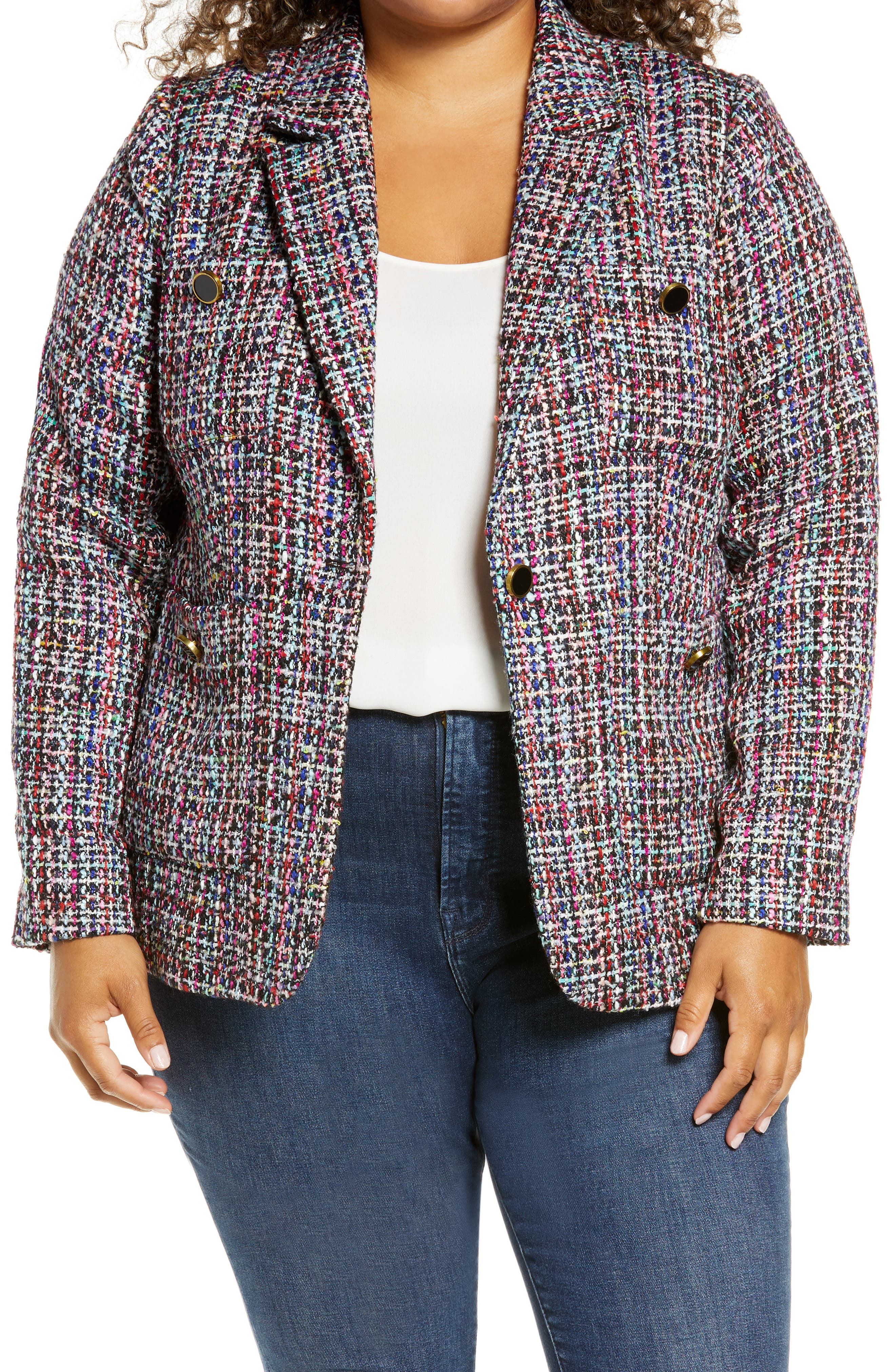 Image of Halogen Callie Tweed Blazer