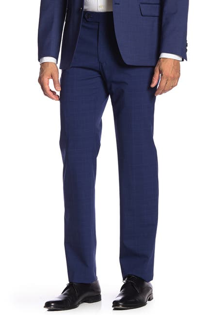 """Image of Tommy Hilfiger Flat Front Tyler Stretch Suit Separates Pants - 30-34"""" Inseam"""