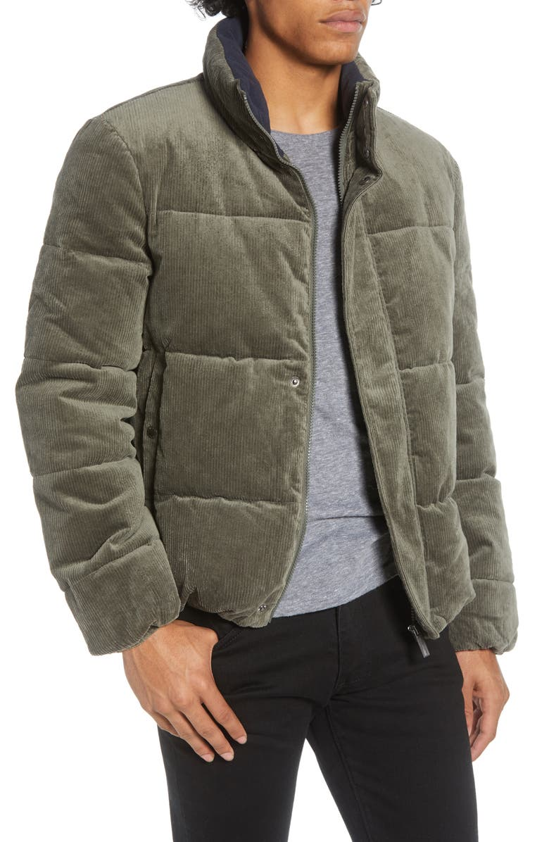 NATIVE YOUTH Vanguard Corduroy Puffer Jacket, Main, color, 200