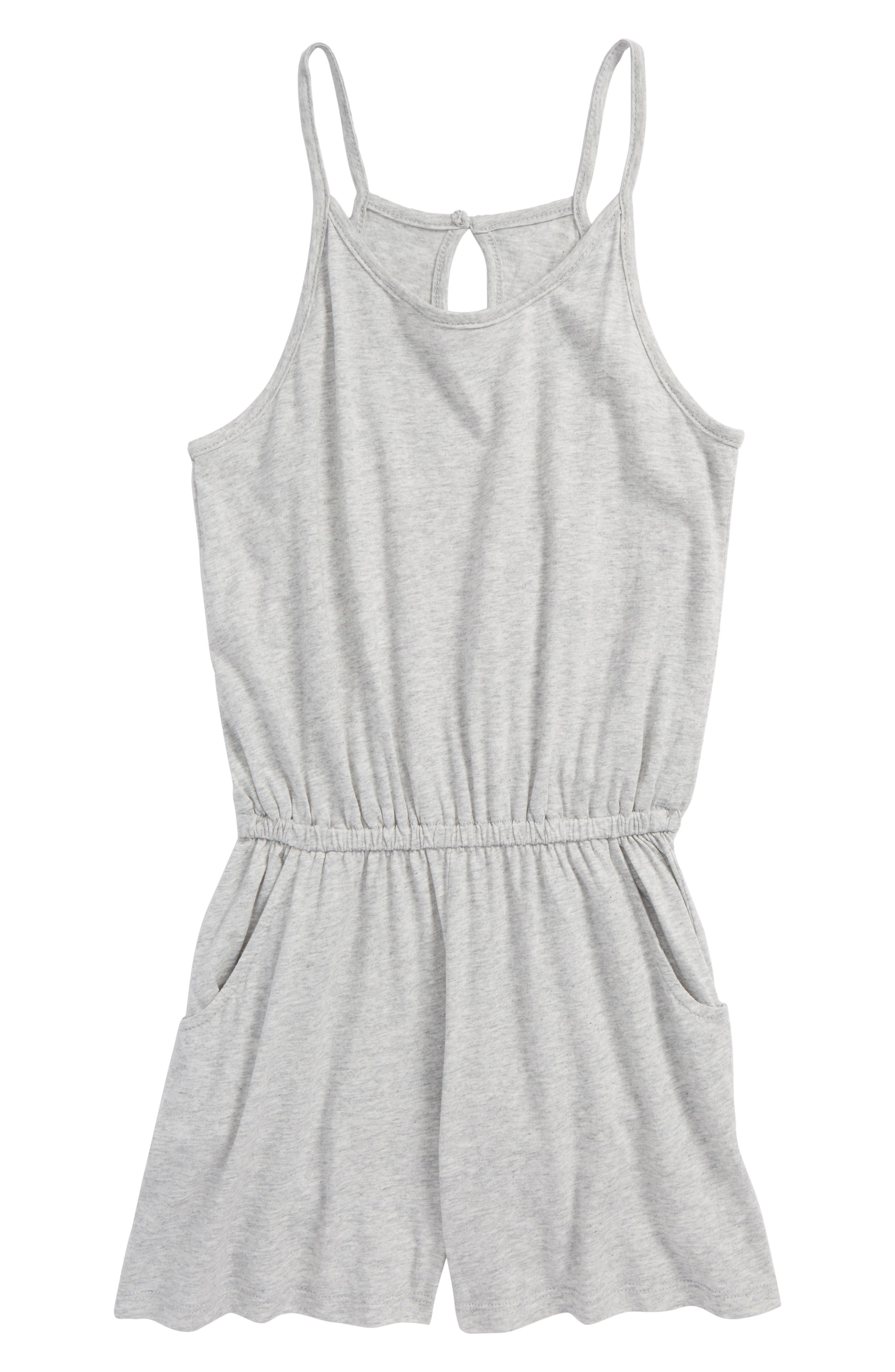 Image of Habitual Corrie Heathered Sleeveless Romper